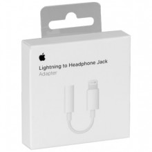 ADAPTER APPLE MMX62ZM/A IPHONE 7/7 PLUS (Lightning - 3,5mm mini jack) BLISTER