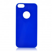JELLY CASE BRIGHT IPHONE 5/5S/SE NIEBIESKI 0,3mm