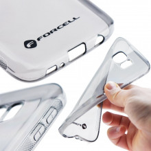 "BACK CASE ""CLEAR"" SAM J3 GALAXY TRANSPARENT FORCELL"