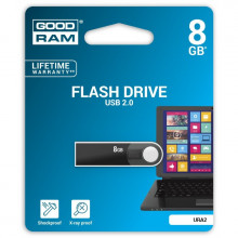 PENDRIVE GOODRAM 8GB URA2 USB 2.0 CZARNY
