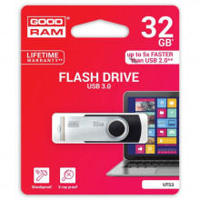 PENDRIVE GOODRAM 32GB TWISTER USB 3.0 CZARNY