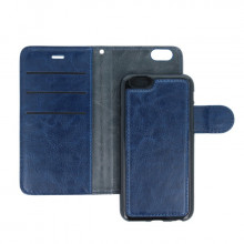FLIP COVER SMART 2W1 IPHONE X NIEBIESKI