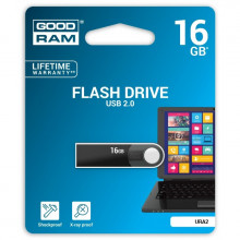 PENDRIVE GOODRAM 16GB URA2 USB 2.0 CZARNY