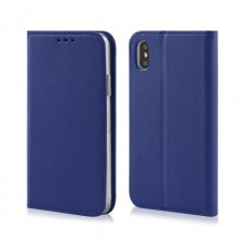 """FLIP COVER SMART MAGNET IPHONE 13 6,1"""" GRANATOWY"""